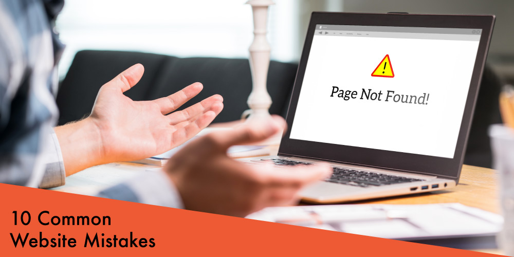 10 common website mistake